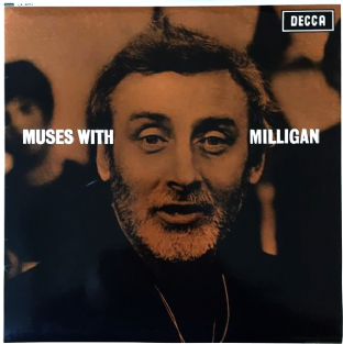 Spike Milligan ‎- Muses With Milligan (LP) (EX-/VG+)